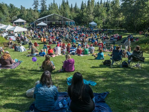 The 12 annual Radio Waves Festival will be held Sept. 6-8 this year at Sweetheart's Bluff  in the Grand Marais Rec park.