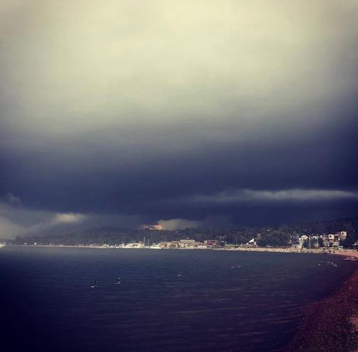 Storm's a' comin' by Sara Jorgenson.