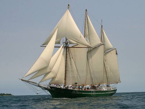 S/V Denis Sullivan is one of the Tall Ships that will arrive in Duluth on Sunday for the Festival of Sail.