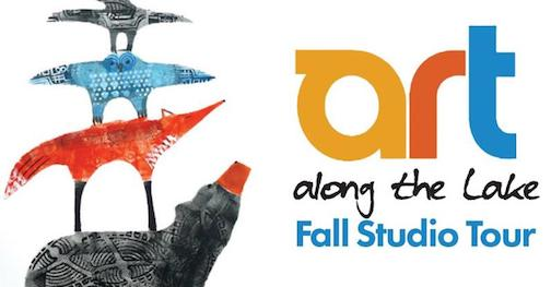 The Art Along the Lake Fall Studio Tour starts on Friday and runs through Sunday, Oct. 6. Look for this sign along Hwy 61 for the artists' studios.