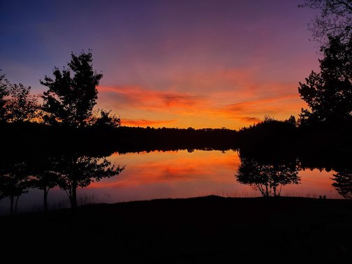 At Loon Lake in Palo, MN by David Grinstead.