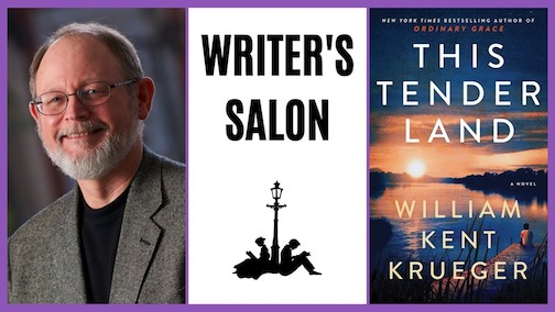 William Kent Krueger will be at Drury Lane Books at 5 p.m. on Saturday to talk about his latest book.