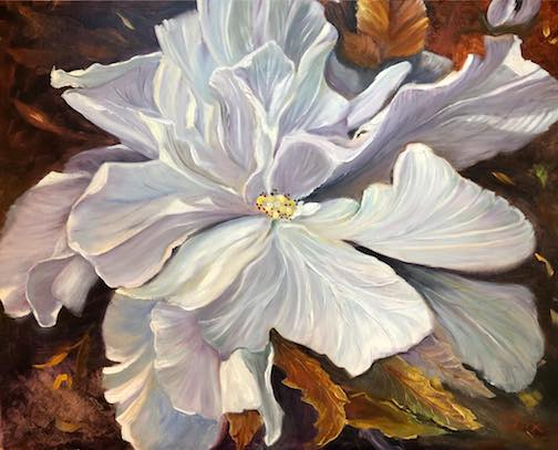 Painter Kathy Fox Weinberg is one of the artists participating in the Fall Studio Tour.
