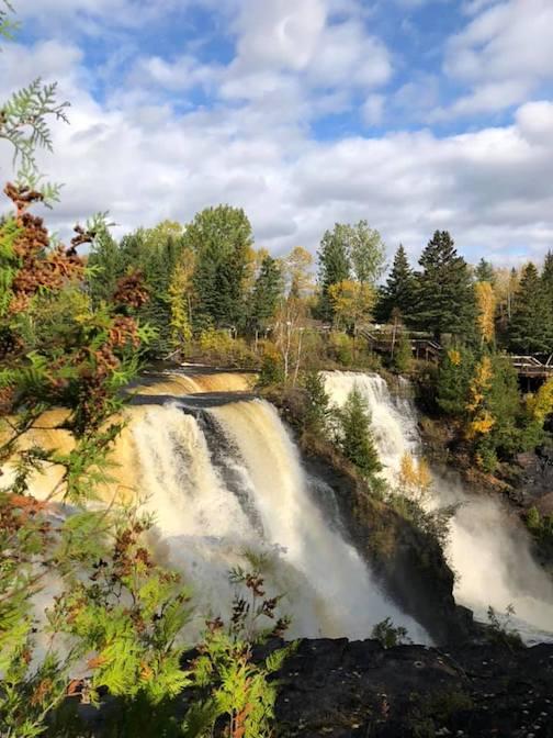 Kakabeka Falls, Thunder Bay, Ontario by Lin Salisbury.