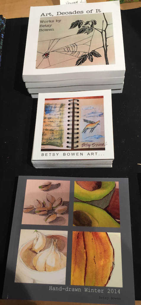 Betsy Bowen has published a number of new books featuring her paintings, drawings and prints.