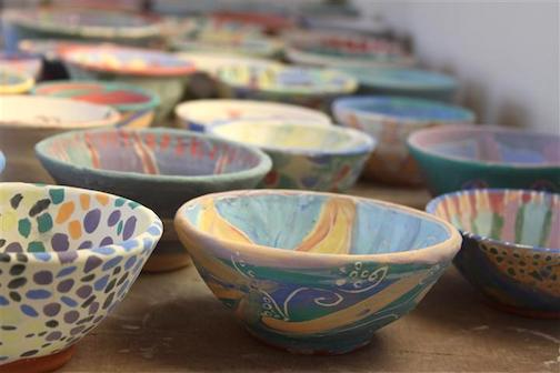 Paint-A-Bowl for Empty Bowls will be held at the Grand Marais Art Colony from 1-3 p.m. Saturday.