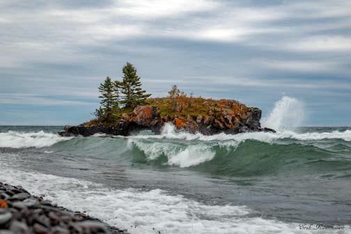Hollow Rock today by Erik Rasmussen.