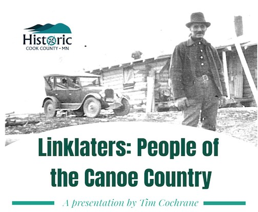 Tim Cochrane will give a presentation on the Linklaters at the Johnson Heritage Post at 4 p.m. Saturday.