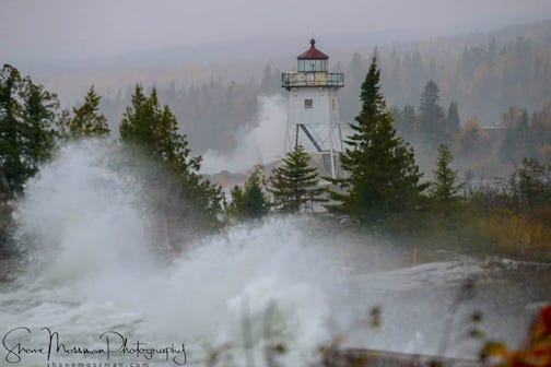 Grand Marais Oct. 12 by Shane Mossman.