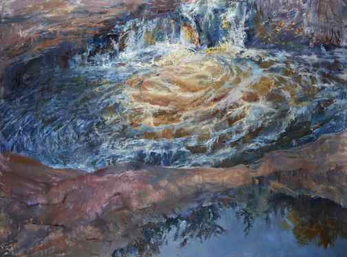 Cascade Pools by Greg Lecker. He will open a show at Tettegouche State Park Nov. 1.