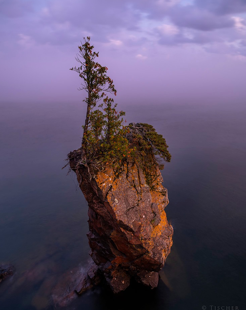 Tettegouche State Park at sunset by Tischer Photography,
