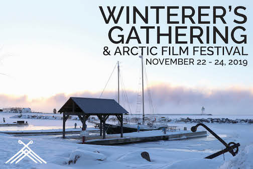 Winterers Gathering postcard 2019
