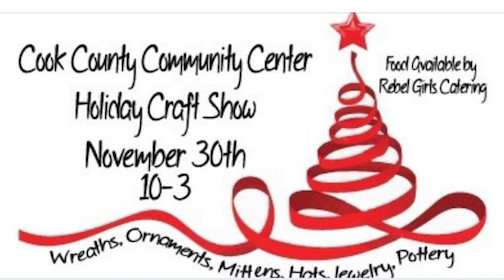 The Community Center Holiday Craft Show will be held from 10 a.m. to 3 p.m. Saturday.