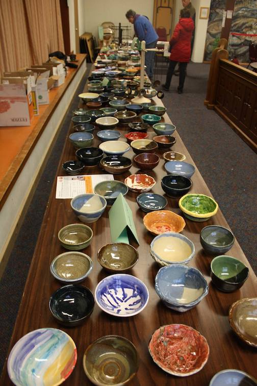 Empty Bowls 2019 is this Thursday at St. John's Catholic Church in Grand Marais. More than 250 bowls have been crafted for this fundraiser to feed the hungry in Cook County.