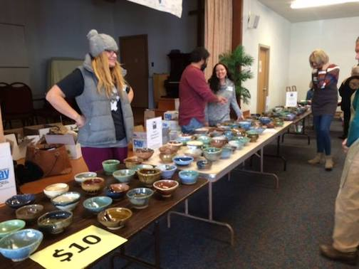 The Empty Bowls 2019 fundraiser to help feed the hungry in Cook County will be held at St. John's Catholic Church in Grand Marais on Thursday, Nov. 14.
