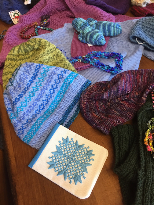 The Northwoods Fiber Guild's Open House and Holiday Sale at the Grand Marais Art Colony is on Saturday, Dec. 7.