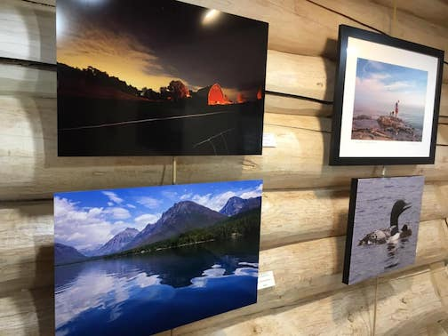 Changing Seasons, featuring photographs by the Frozen Photographers is on exhibit at the Johnson Heritage Post this weekend.