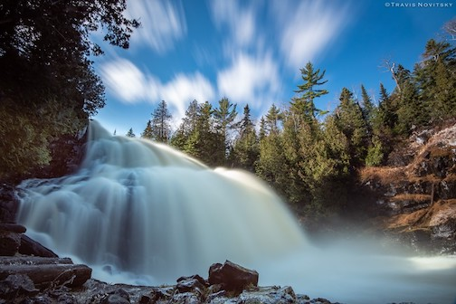 Partridge Falls by Travis Novitsky.