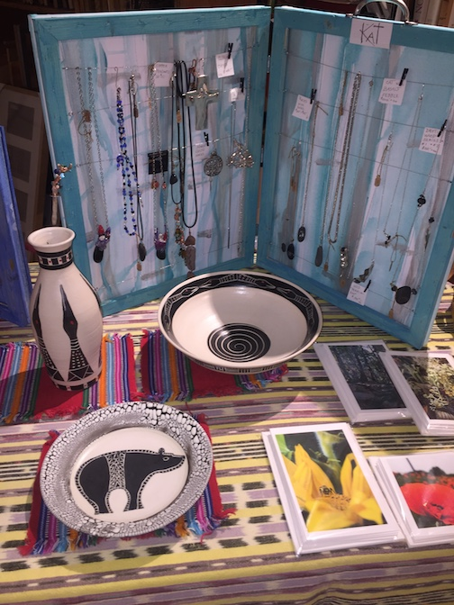 Lutsen potter Maggie Anderson has work at the Holiday Art Underground Show at Betsy Bowen's Studio Gallery.