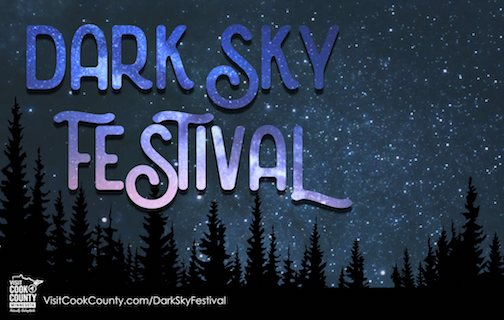 The Dark Sky Festival is Friday and Saturday.