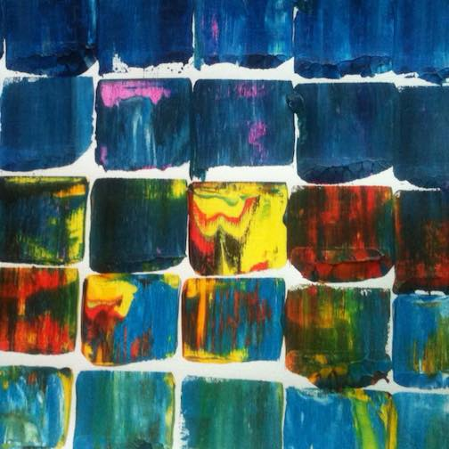 Molly Ovenden is exhibiting her abstract work at the Johnson Heritage Post this month,