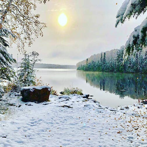 Trout Lake Public Access by Ben Johnson.