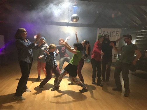 Dance, Dance, Dance, a monthly dance party, will be held from 7:30-9:30 p.m. in the $-H Building at the Cook County Community Center. Free. All invited.