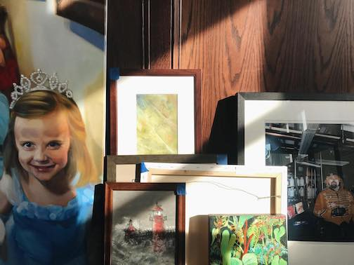 This is the week for members' artwork drop-off at the Duluth Art Institute in preparation for the Members Show, which opens Feb. 4.