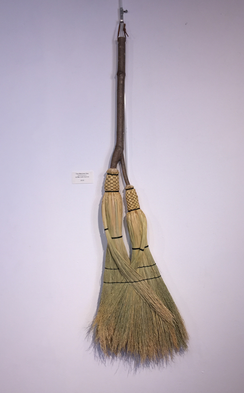 """This is the final weekend of """"Wood Swept,"""" an exhibit of work by Marybeth Garmoe."""
