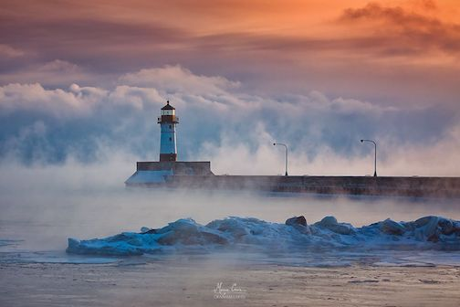 """Winter Whispers"" (Duluth) by Marcie Crain."