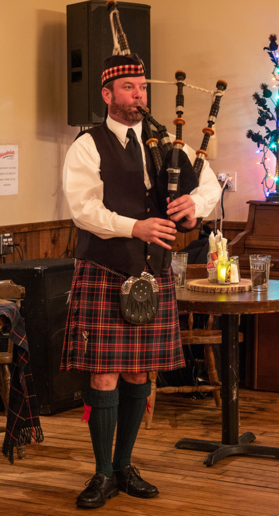 The 2020 Robert Burns Dinner will be held at the Wunderbar on Saturday.