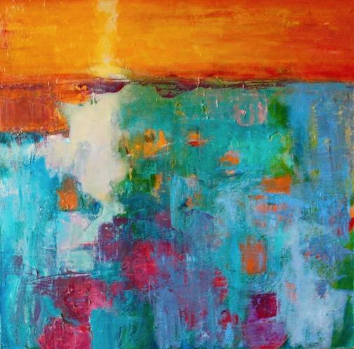 """Superior Sunset"" by Jane Johnson."