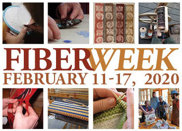 Fiber Week is held at North House Folk School from Feb. 11-17.