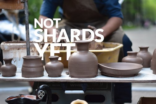 """""""Not Shards Yet,"""" a pottery seconds sale, will be held at Studio 21 Feb. 22-23."""