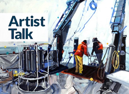Duluth painter and muralist Adam Swanson will give an Artist Talk at the Grand Marais Art Colony at 7 p.m. Thursday.