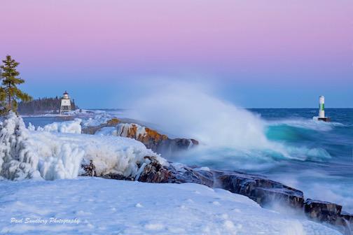 Lake Superior Storm by Paul Sundberg.