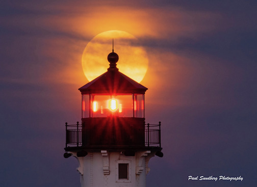 March Super Moon by Paul Sundberg.