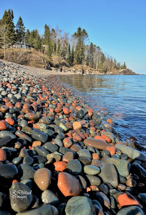 Lake Superior gems by Roxanne Distad.