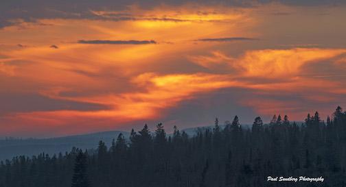 Incoming storm by Paul Sundberg.