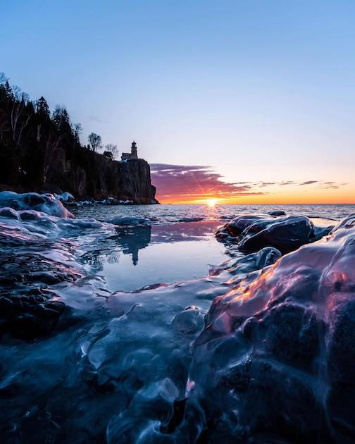 Leap Day Sunrise by Presto Buechler.