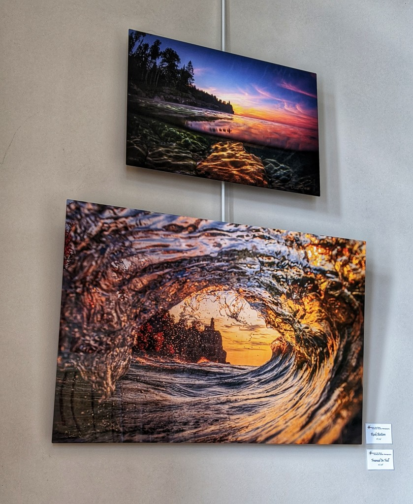 Christian Dalbec is exhibiting his photographs at Tettegouche State Park this month. Photo by Don Davison