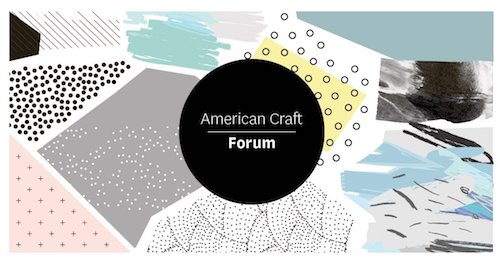The American Craft Council is holding a Zoom forum on Friday.