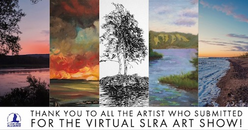 The St. Louis River Alliance has created a virtual art show of works submitted about the river and its world.