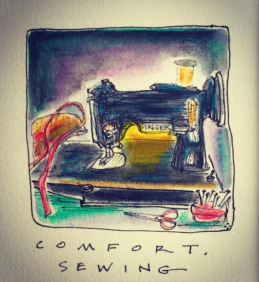 Comfort. Sewing. A soft craft by Betsy Bowen.
