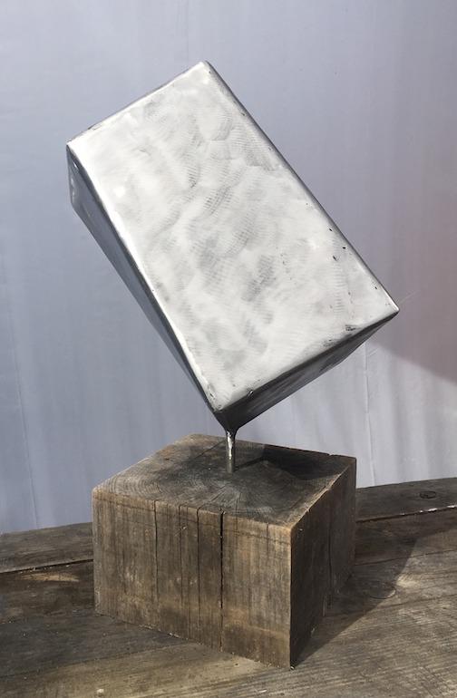 Wood, steel by David Steckelberg.