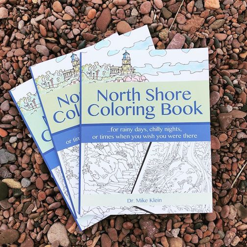 drury lnae book north shore coloring book