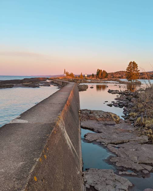lake superior trading posts good morning from Grand Marais