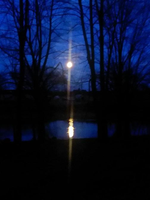 Mookaam -- Moonrise by Robert Desjarlait.