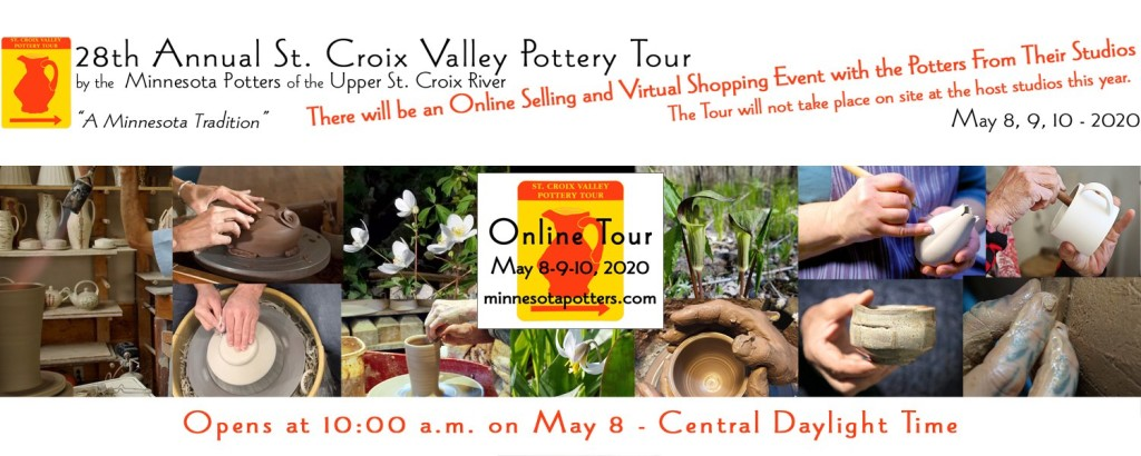 The St. Croix Valley Pottery Tour will be a virtual tour this year.