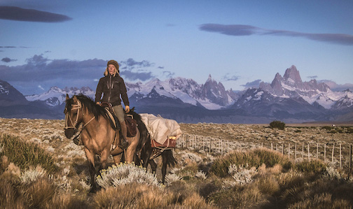 Stevie Plummer has written about her wilderness journey on horseback through Patagonia.